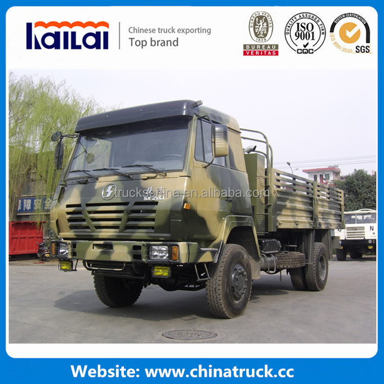 AWD Shacman 4x4 truck military vehicles for sale