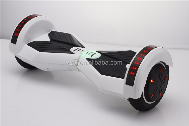 With bluetooth and LED smart 2 wheel electric scooter