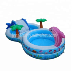 Details about dophin Inflatable Kids Play Center Swimming Pool /paddling pool