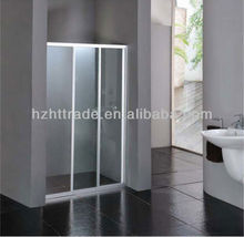 Bathroom customize One-piece tempered Glass Shower Enclosure