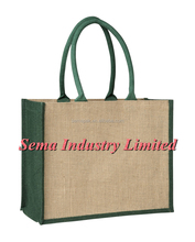personalised jute shopping bags and gunny sack with custom logo