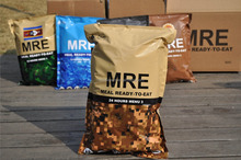 Combat Ration Pack/ MRE, Meal Ready to Eat/ Hiking Ration Pack