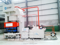 10000 TON BULLETPROOF SHIELD HYDRAULIC PRESS