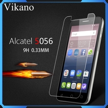 Amazon Mobile Phones For Alcatel One touch Fierce Xl 5056 9H 2.5D Transparent Tempered Glass Screen Protector