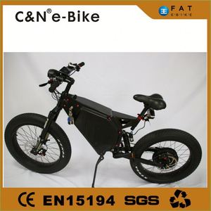 24*4.0 1500W big power Fat tire electric Mountain bike/Snow bike/electric bicycle with CE