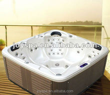 Chinese Free Standing Baths Whirlpool Fiberglass Pool Outdoor Spa Hot Tub JY8018