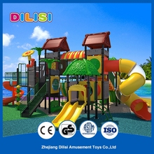 Fun Kids Plastic Outdoor Playground Big Slides for Sale