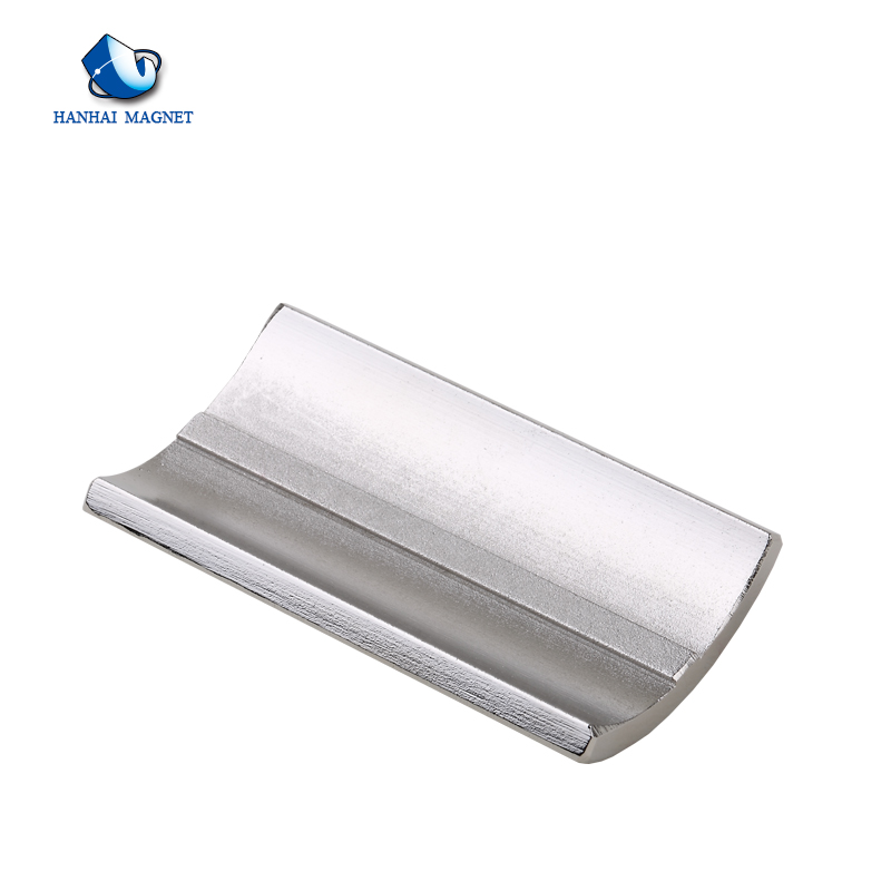 China High sale high power arc shape strong motor magnet for sale