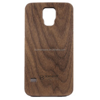 mobile phone wood back cover for Samsung galaxy S5 wood back cover
