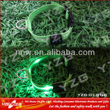 2012 glowing dog collar with leashes