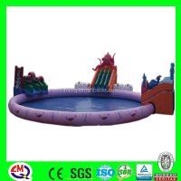LMQ-G02 Happy Christmas Inflatable adult size inflatable water slide