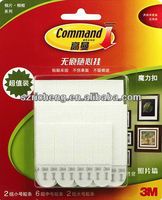 3M command magnetic strips 3m command adhesive strips Picture Removable Hanging Interlocking Fastener(Pack of 1) 3sets