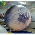 Giant inflatable moon balloon with led light for decoration