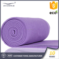 Sweat compact fabrics private label grip mat size cover custom wholesale anti slip microfiber yoga towel