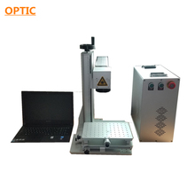 20W metal able mini laser marking machine with Ezcad software