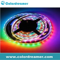 dmx control 5050 smd rgb led pixel strip light/outdoor dmx led strip light with artnet controller & madrix software control