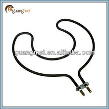 Coil tube heating elements