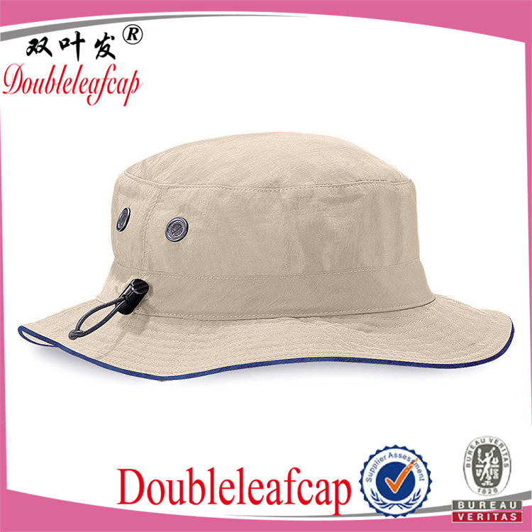 Custom Printed Bucket Hat With Flexfit Rope Promotional Unisex Bucket Hat Wholesale