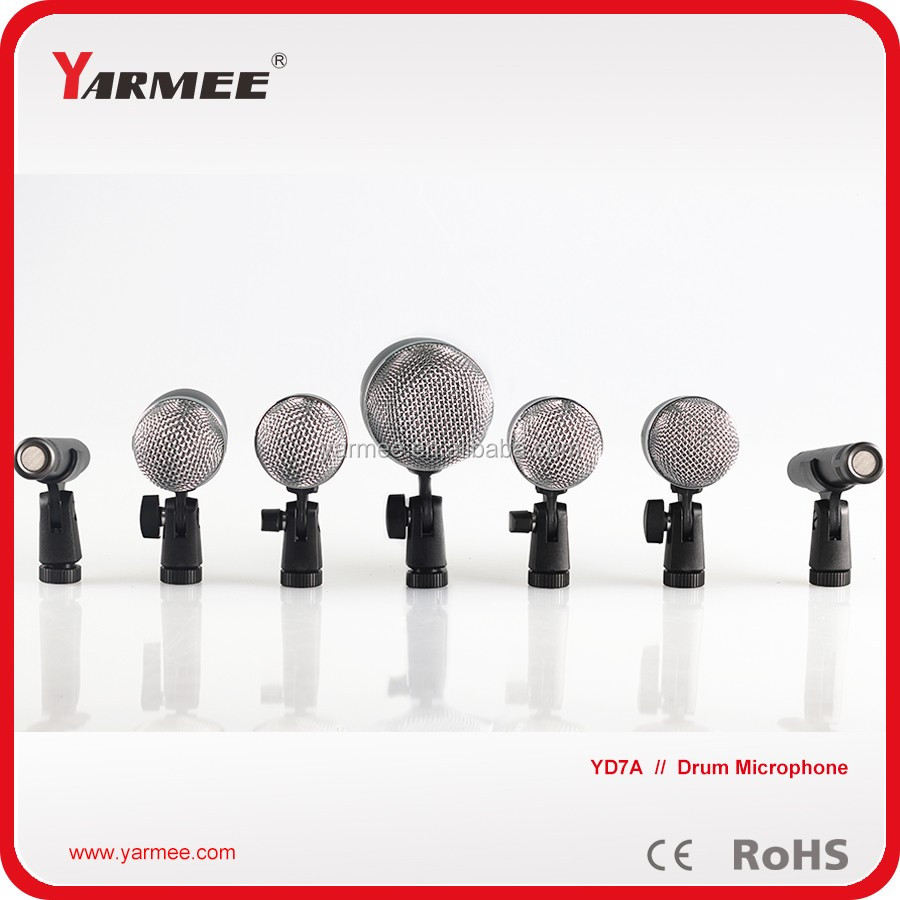 YARMEE High Quality Wired Instrument Drum Set MIcrophone YD7A