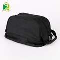 hot sale waterproof polyester nylon portable zipper travel shoe bag