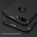 Black Matte Case for iPhone 7 Plus Dustproof protective for iphone7 cover ultra slim phone shell