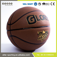 2016 good quality new lamination basketball , Rubber basketball , basketball balls