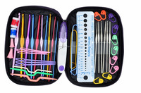 49 Pieces Crochet Hooks Yarn Knitting Needles Sewing Tools Full Set Knit