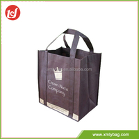 All color promotional durable cheap printed non-woven Eco shopping bag