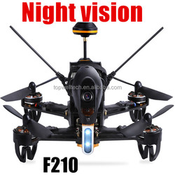 2016 latest F210 Racer RC night vision fpv drones with hd camera and gps RTF with DEVO 7 Remote Control OSD