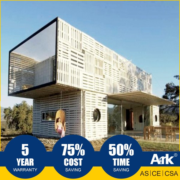 ARK Long Lifespan full finished shopping mobile container house