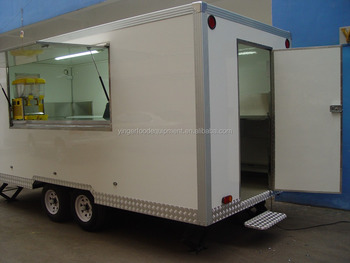 Australia approved with EDR New Design Food Trailer
