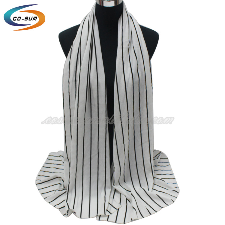 Latest fashion hijab one piece muslim custom print scarf