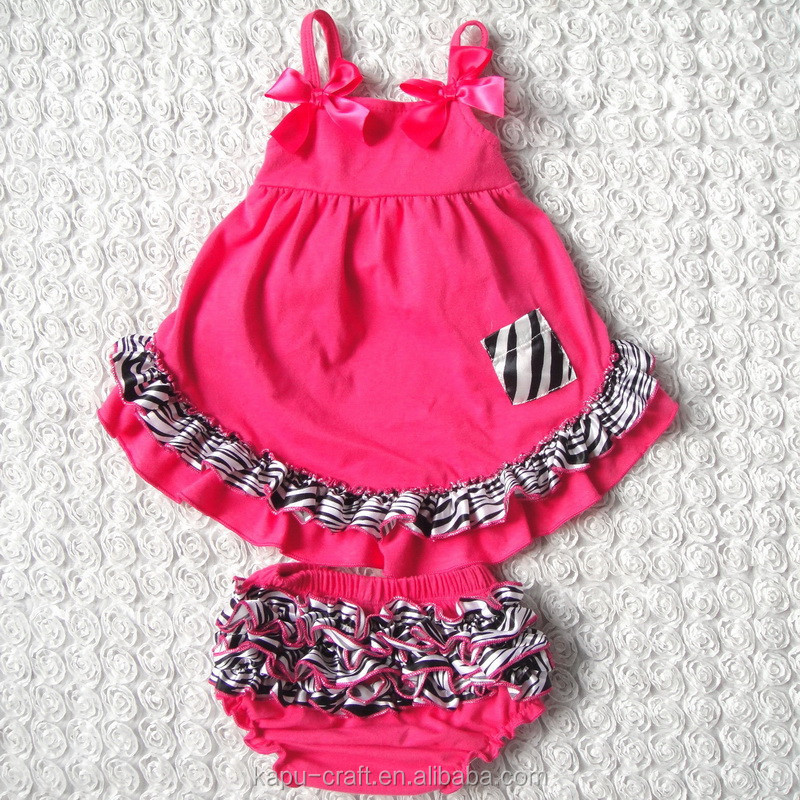 2015 newest style lovely swing top bloomer set,baby clothes,indian swing set
