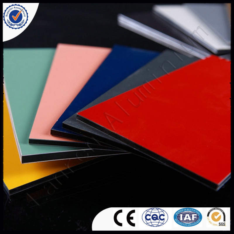wall cladding panels/roof sheet clear plastic/aluminium foil insulation/4x8 aluminum sheet