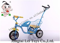Popular children tricycle kids 3 wheeler pedal car with 2seats for twins/Baby Tricycle 2in1/Cheap Kid Tricycle bike with pushbar