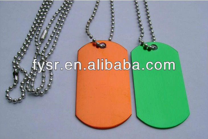 promotional army dog tags