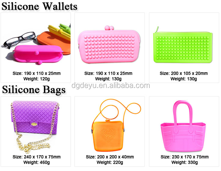 High Quality Rubber Coin Purse Silicone Coin Wallet