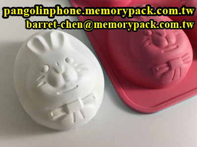 MPK egg rabbit bar soap making silicone molds CCM-003