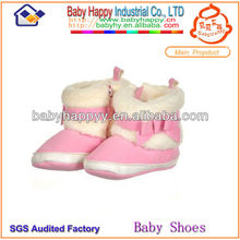 Discount warm soft white fur bot shoes for baby