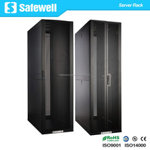 Safewell 42U Rack Enclosure Server Cabinet Doors and Sides 3000lb Capacity