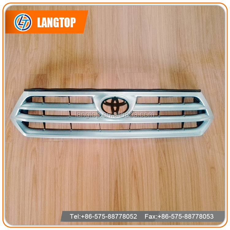 Car Chrome front grille for TY Highlander 2012