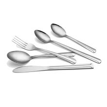 International stainless steel Used Hotel Bulk metal spork flatware