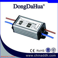HOT sales IP67 3W 12V constant current waterproof ip67 12v triac dimmable LED driver transformer