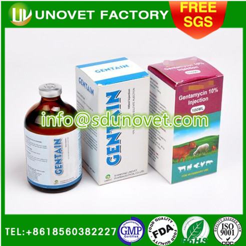 zibo 10% Gentamycin Sulphate Injection for sheep veterinary GMP pharmaceutical companies