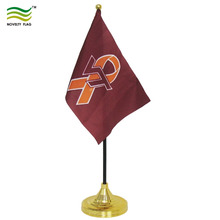 Plastic flag pole and Plastic Stand Table flag