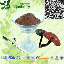 GMP manufacturer for duanwood and organic high quality Ganoderma lucidum Extract/ Reishi Extract/Reishi Mushroom Extract