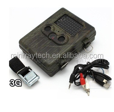 High-Quality Hot Hunting Camera HT-002LIG Support 3G Smart Phone PIR Motion Dectect Remote MMS Controlling