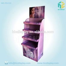 Custom Printing produce merchandising display,printing shelf floor display