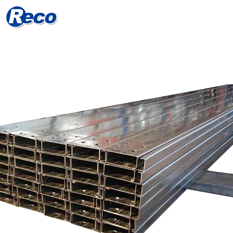 cold roll strip cold bending for c steel purlin dimensions u standard length of c channel u steel truss purlin