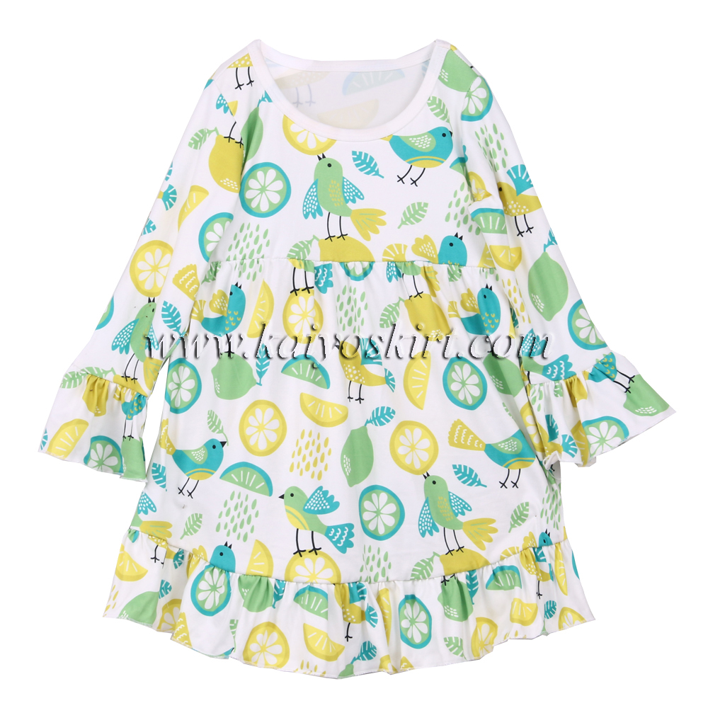 Baby fall dresses 2017 latest frocks designs baby clothing organic milk silk beautiful children dress